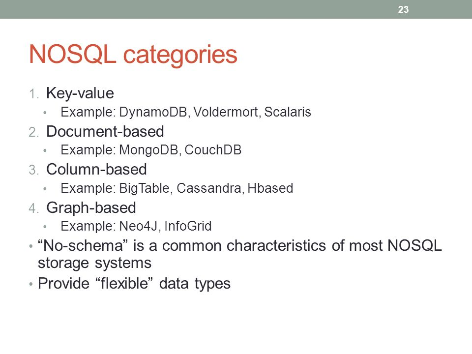 Introduction to NOSQL Databases - ppt download