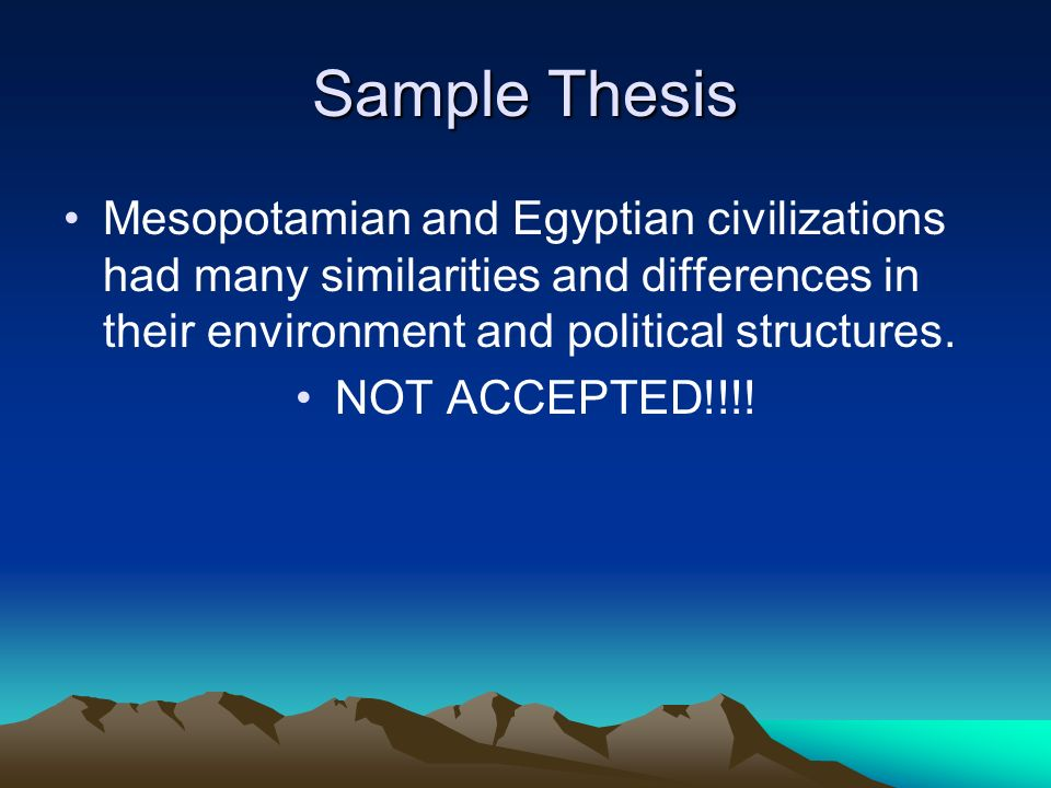 similarities and differences between egypt and mesopotamia essay Social and political structures of egyptian and mesopotamian civilizations  higher status than women in mesopotamia in egypt, the king was at the top of the.