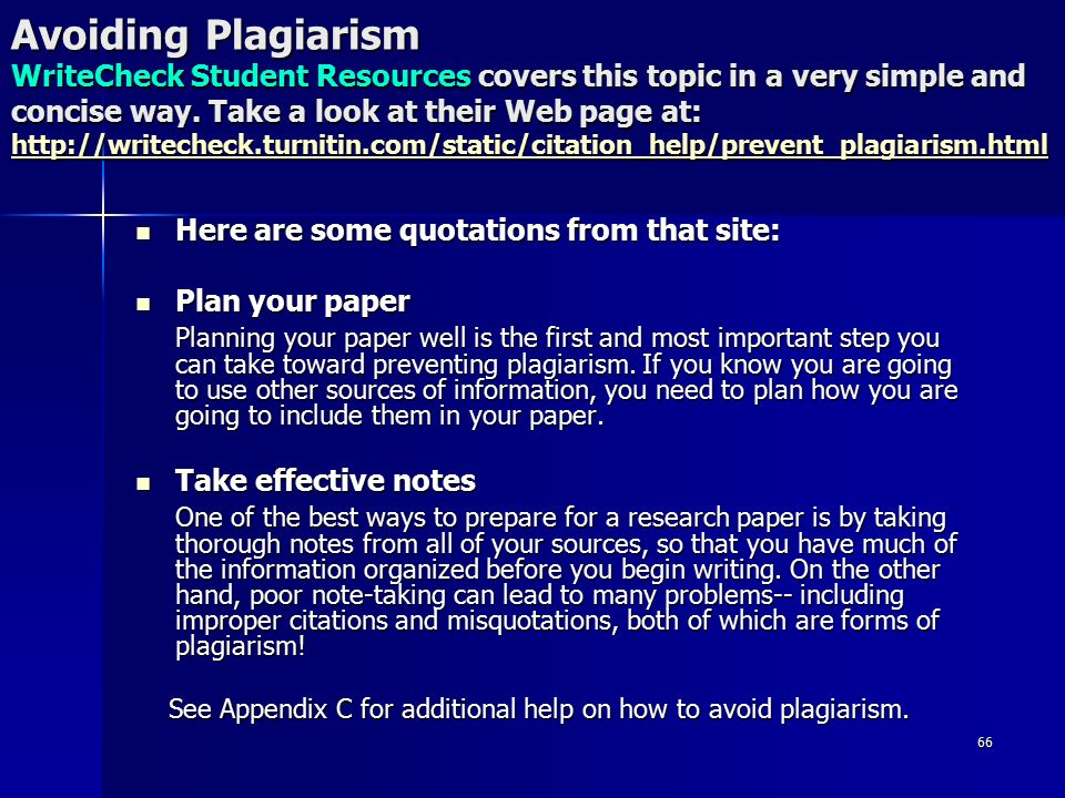 How to avoid plagiarism when writing a research paper Essay Help