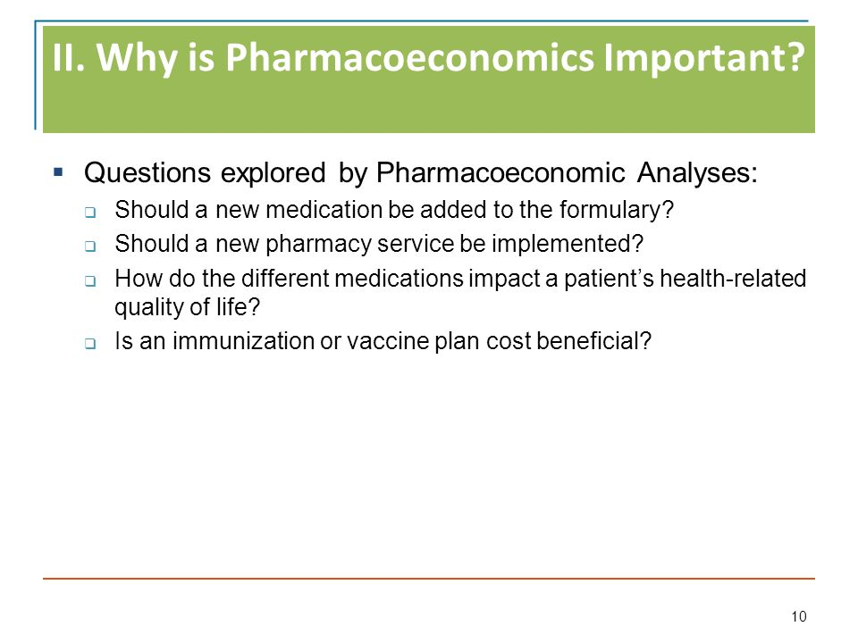 Introduction to Pharmacoeconomics - ppt download