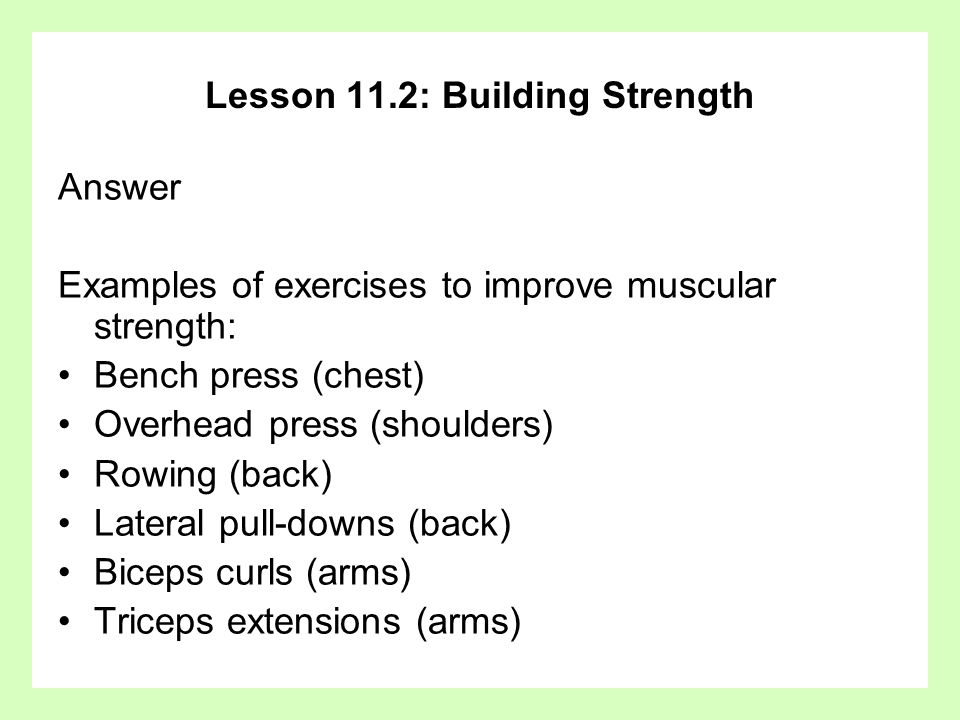 Chapter 11 Muscle Fitness Basic Principles and Strength - ppt download
