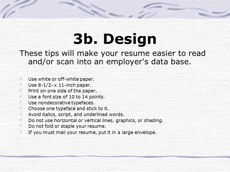 A GUIDE TO RESUME WRITING - ppt video online download - Make Your Resume