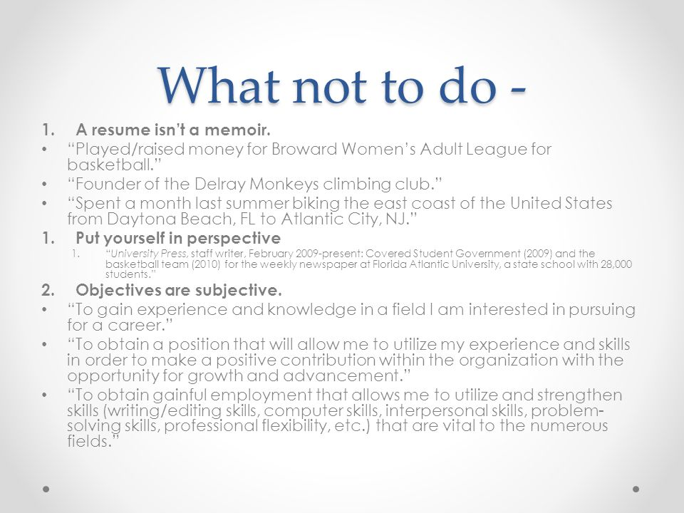 Resumes and cover letters - ppt video online download