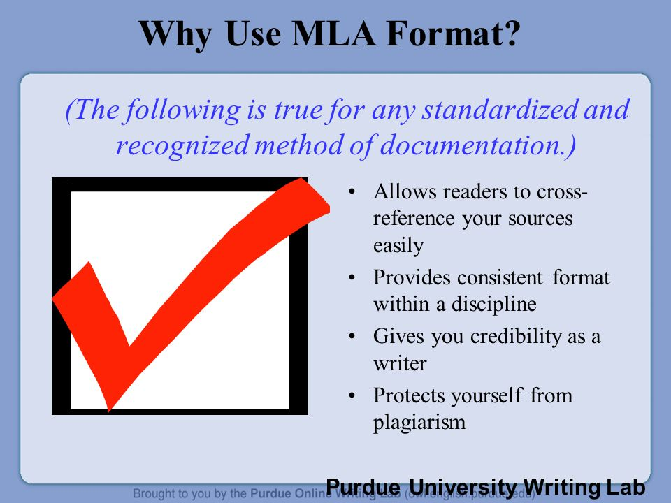 What Is MLA And Why Do We Use It? - Ppt Video Online Download