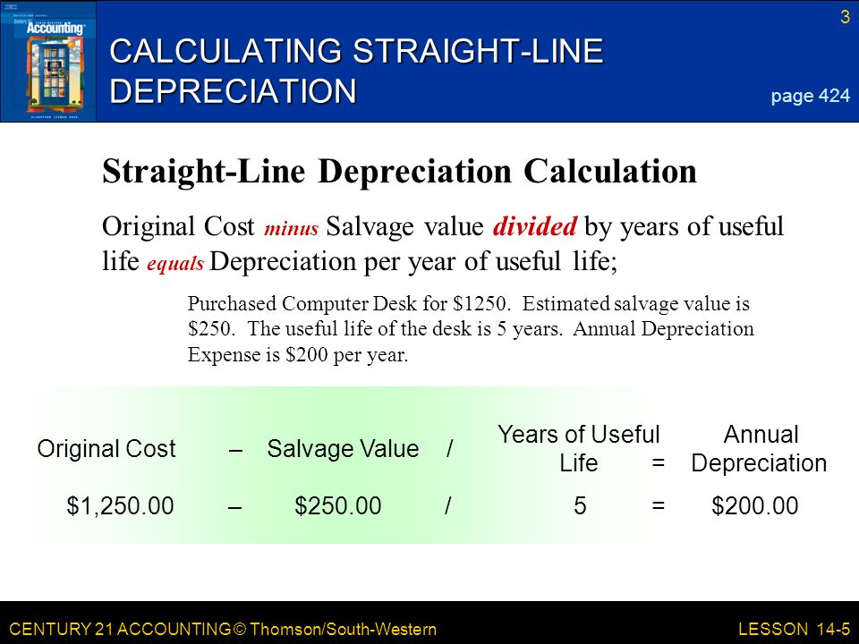 LESSON 14-5 Planning and Recording Depreciation Adjustments - ppt