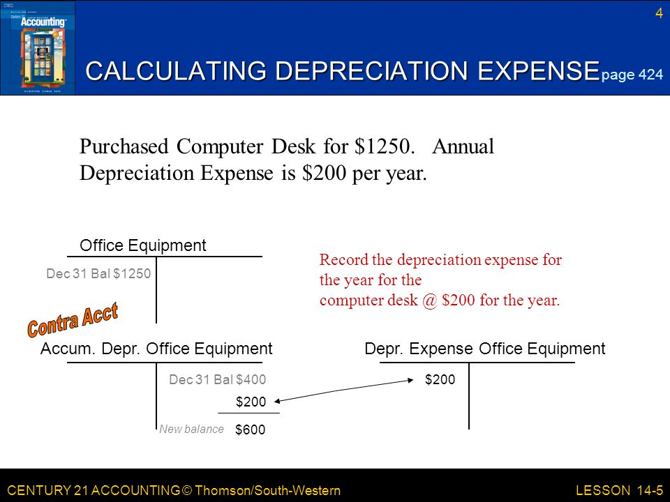 LESSON 14-5 Planning and Recording Depreciation Adjustments - ppt