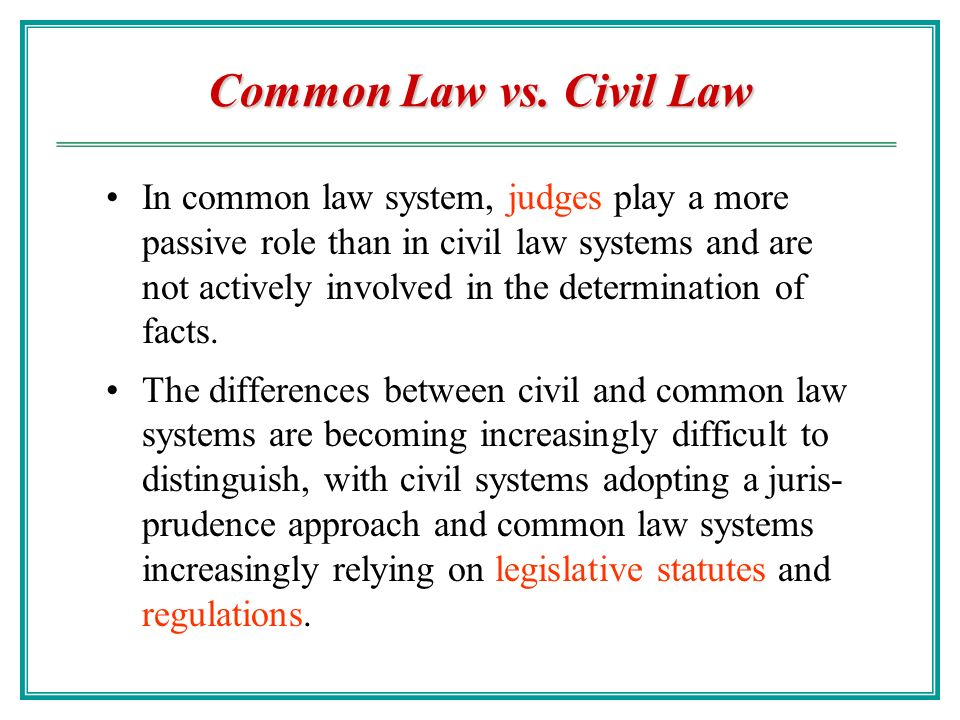 the development of common law principles applicable to the defense of civil law provocation The course covers the elements of criminal conduct in general and of specific crimes, which may include rape, the various forms of homicide, drug and theft offenses, anticipatory offenses, group criminality, and both common law and statutory defenses including insanity, provocation, and duress.