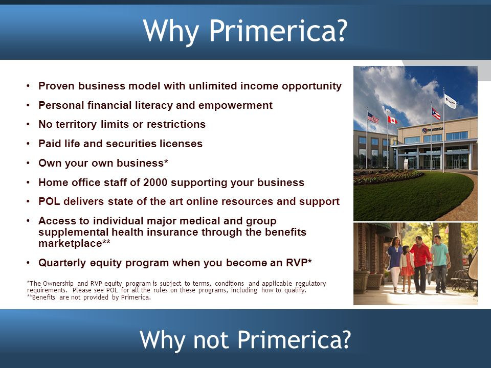Primerica Representatives Introduction Smart, Affordable, Group