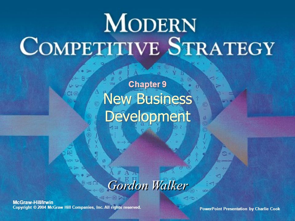 Chapter 9 New Business Development - ppt video online download