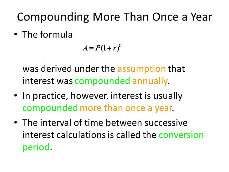 4 Mathematics of Finance Compound Interest Annuities - ppt video