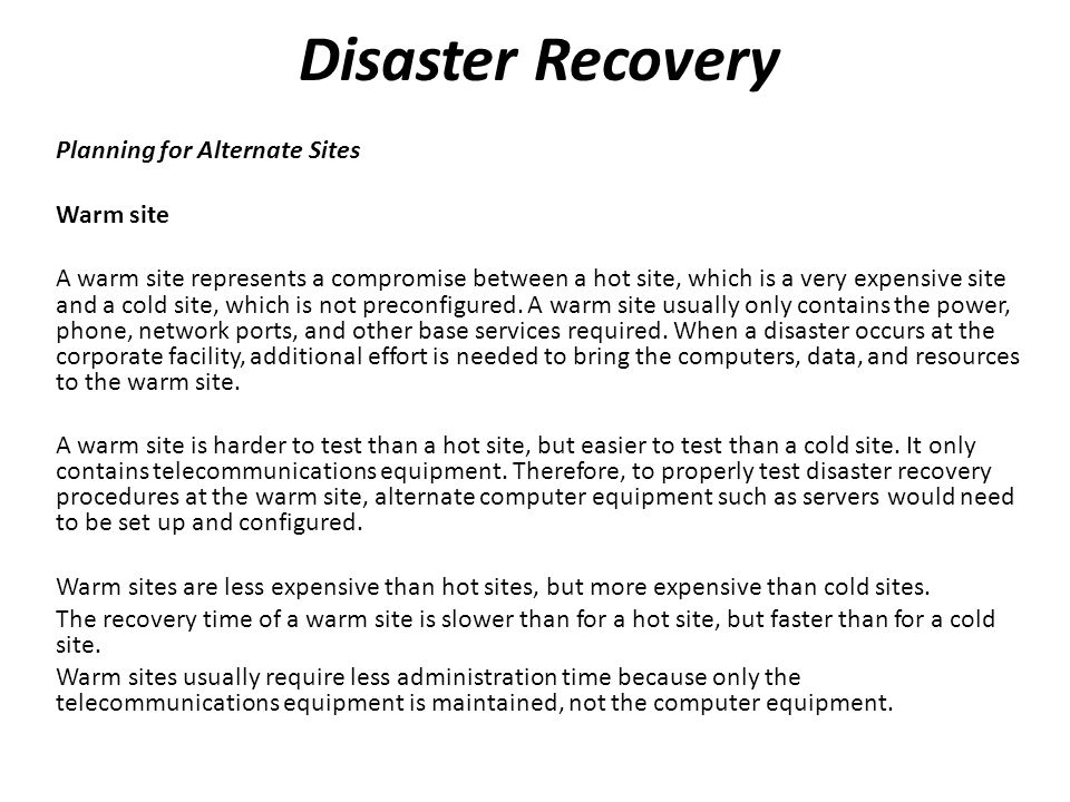 Network Disaster Recovery Planning candybrand