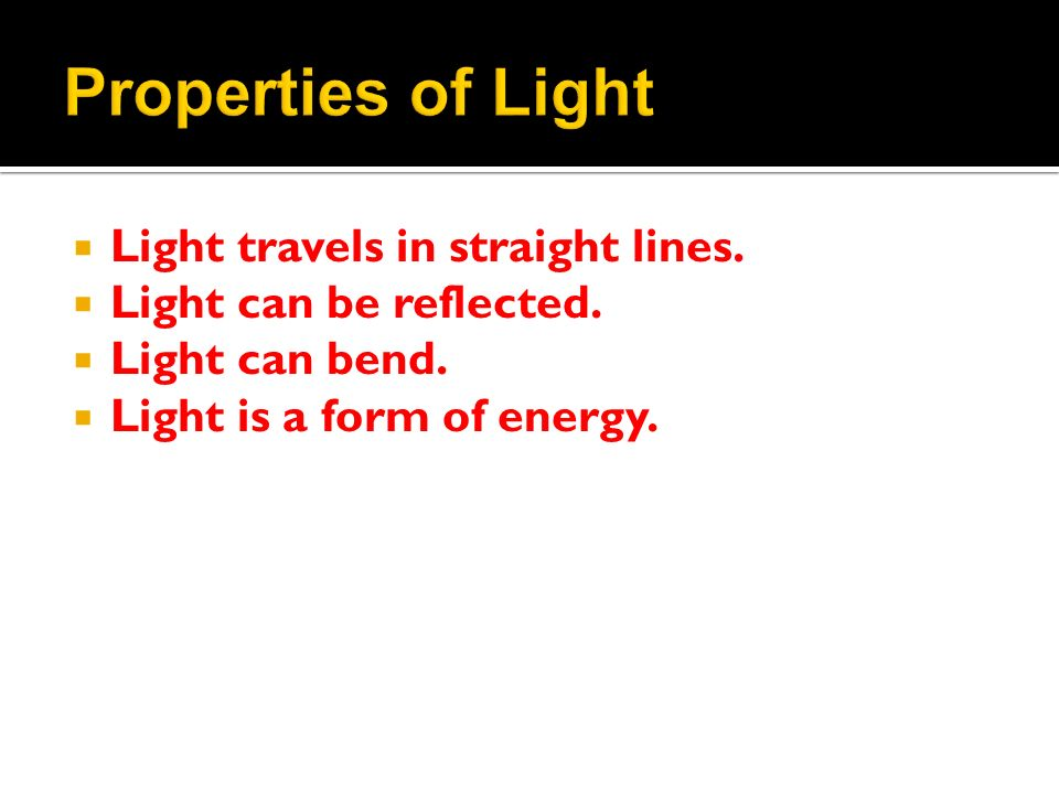 Unit C Light And Optical Systems Ppt Video Online Download