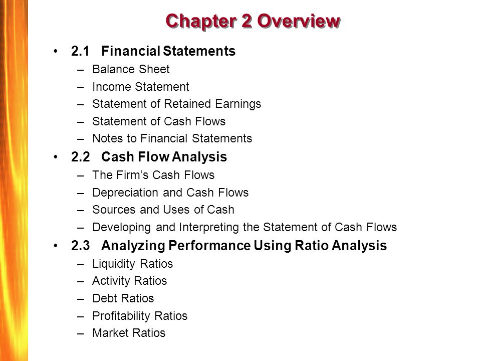 Financial Statements And Cash Flow Analysis - ppt download