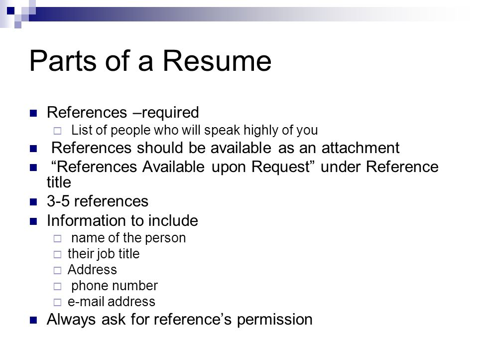 How to write a Resume - ppt video online download