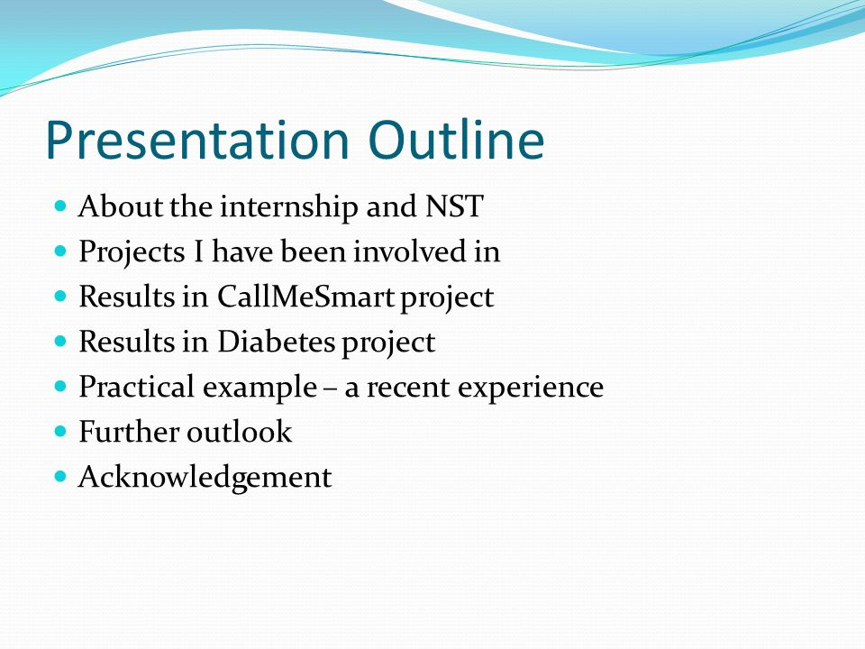 NST Internship Summary - ppt video online download