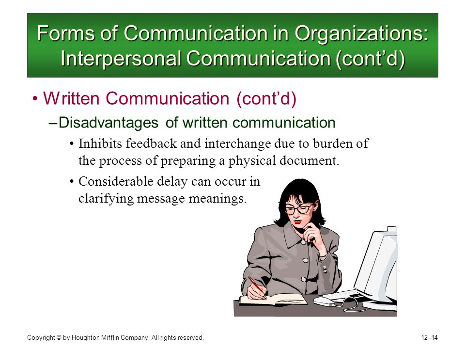 Forms of interoffice communication Research paper Academic Writing