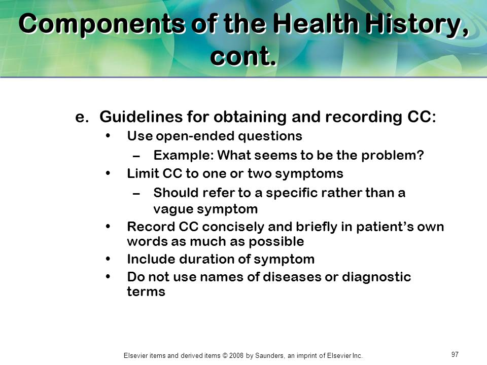 CHAPTER 1 THE MEDICAL RECORD - ppt download
