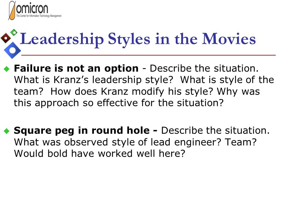 Finding Your Most Effective Leadership Style - ppt video online download