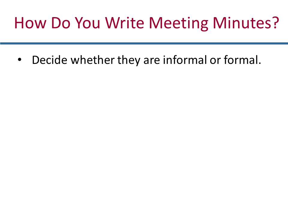 Writing Reader-Focused Informal Reports - ppt video online download