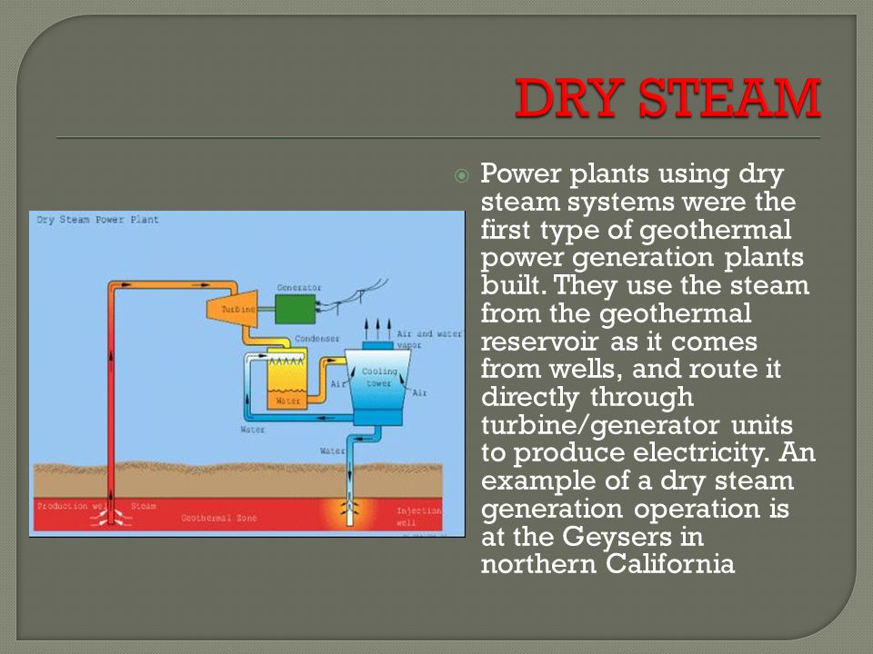 GEOTHERMAL POWER PLANT - ppt video online download