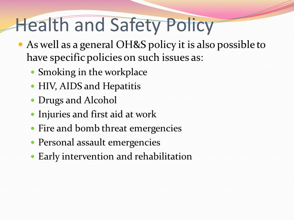 Occupational Health  Safety - ppt video online download
