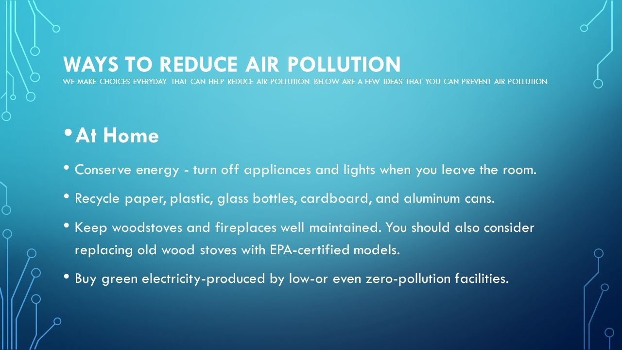 How To Reduse Pollution Pollution Ppt Video Online Download