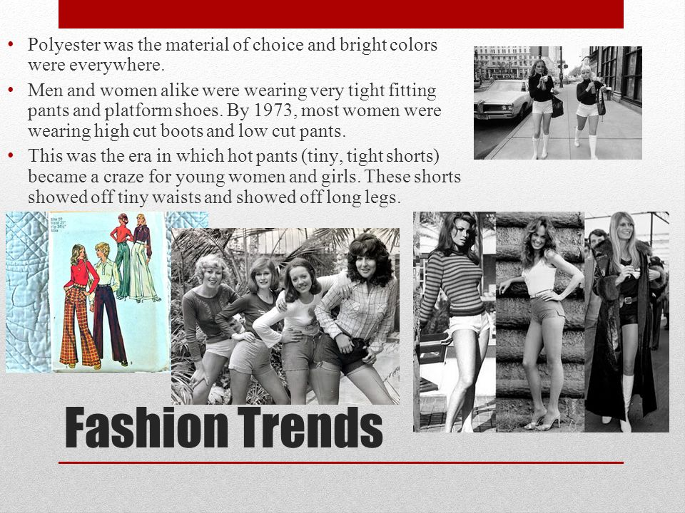 Fashion In The 1970s By Brielle Beites The Me Decade