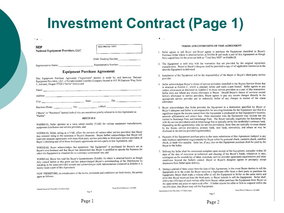 SECURITIES 101 FOR LAW ENFORCEMENT OFFICIALS - ppt download - business investment contract