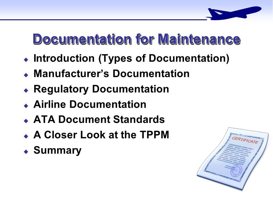 Documentation for Maintenance - ppt video online download