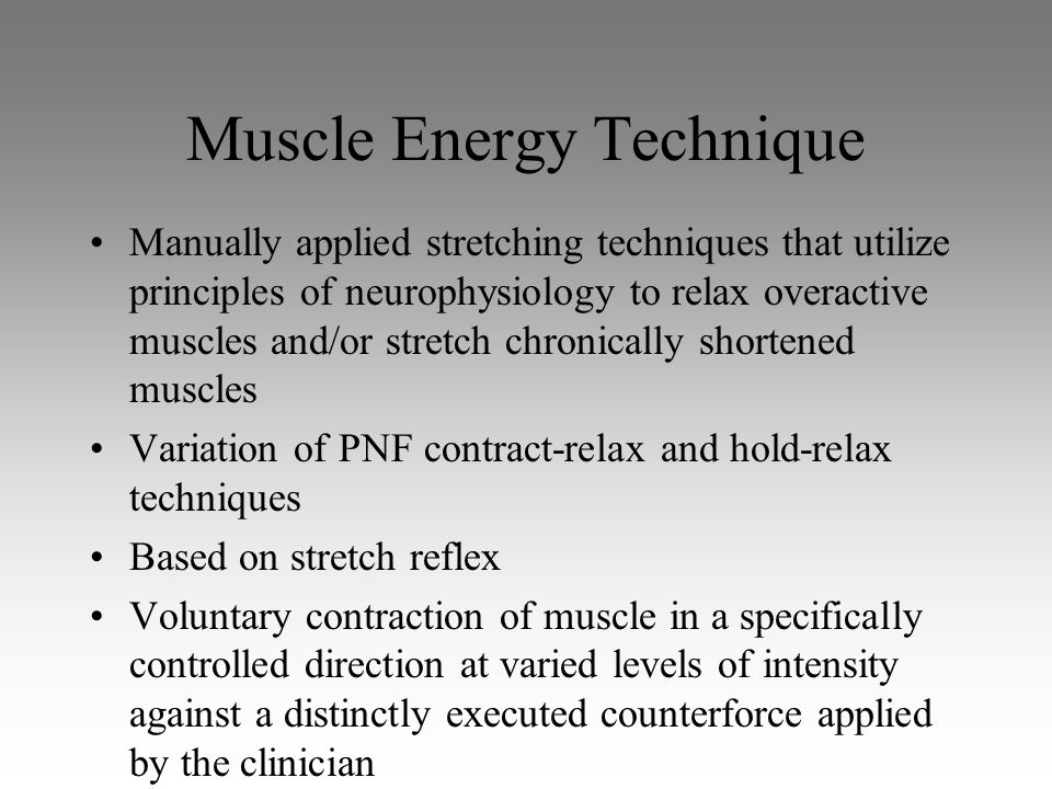 Muscle Energy Technique For SI Joint Dysfunction - YouTubemuscle