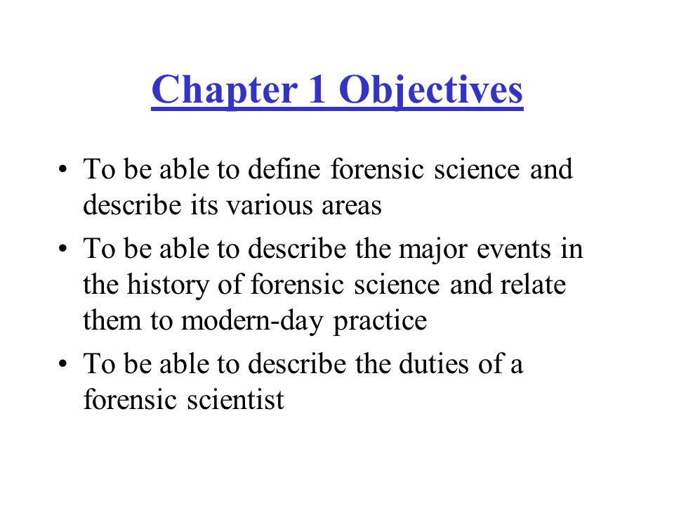 Introduction to Forensic Science - ppt video online download