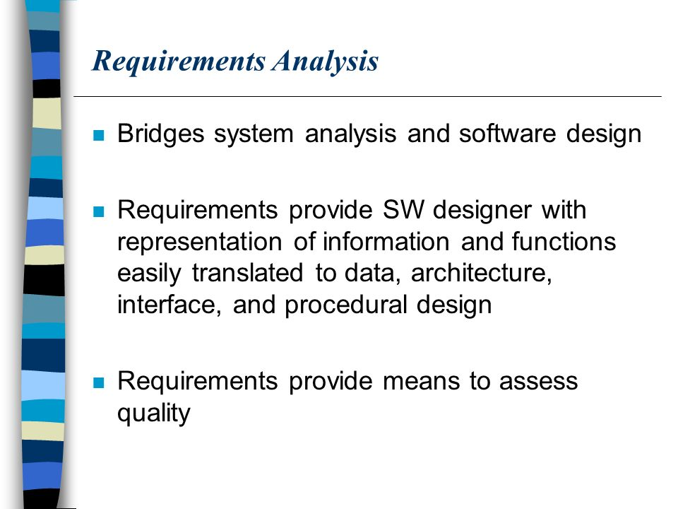 Requirements Analysis - ppt download - requirement analysis