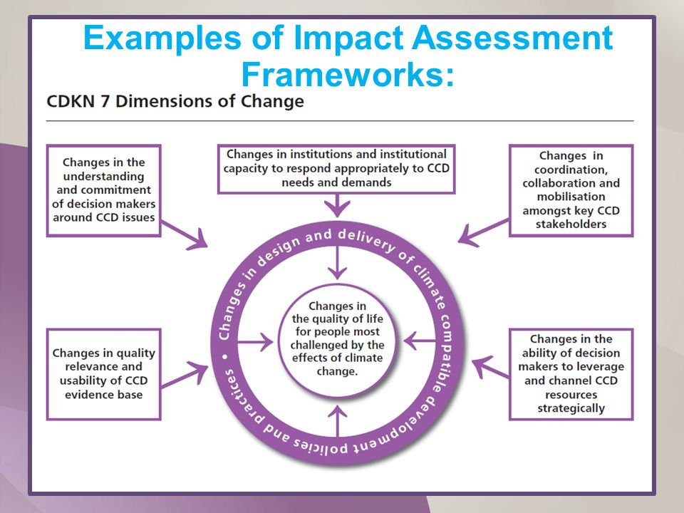 Impact Assessment Training - ppt download