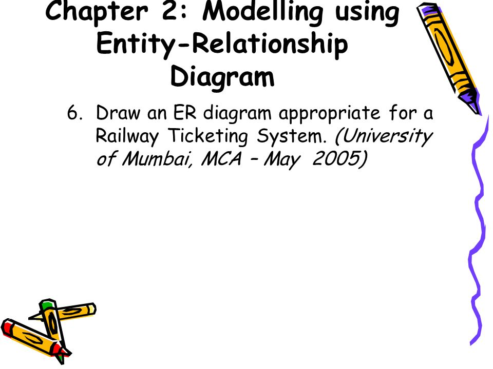 Chapter 2 Modelling using Entity-Relationship Diagram - ppt download