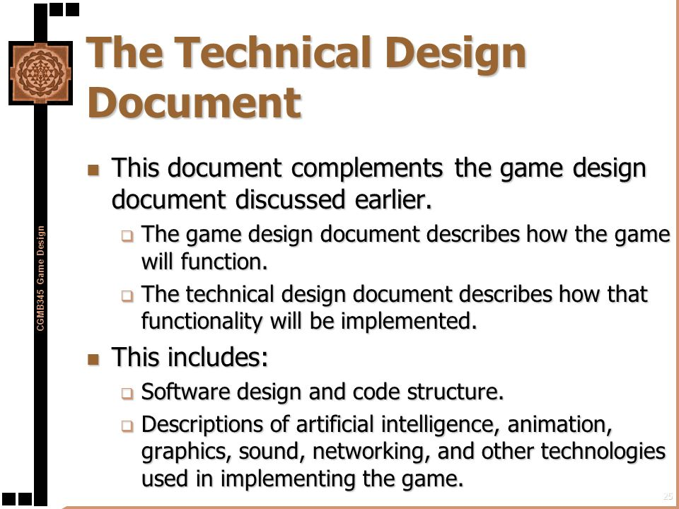 Creating A Game Design Document Design Rationale Wikipedia Solved