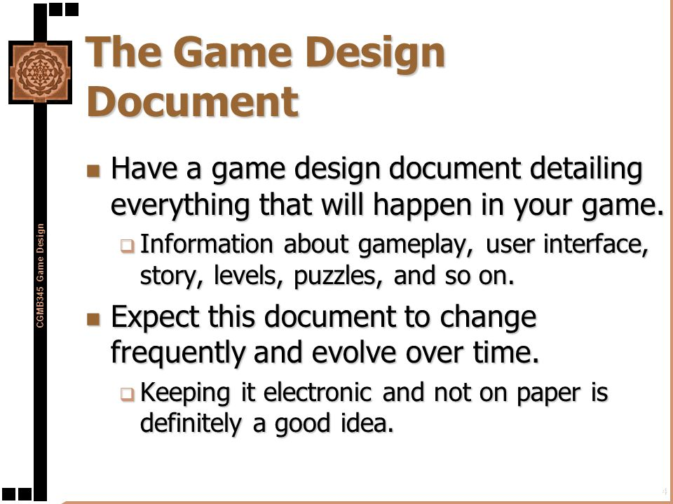 Preproduction in the Game Development Process - ppt download