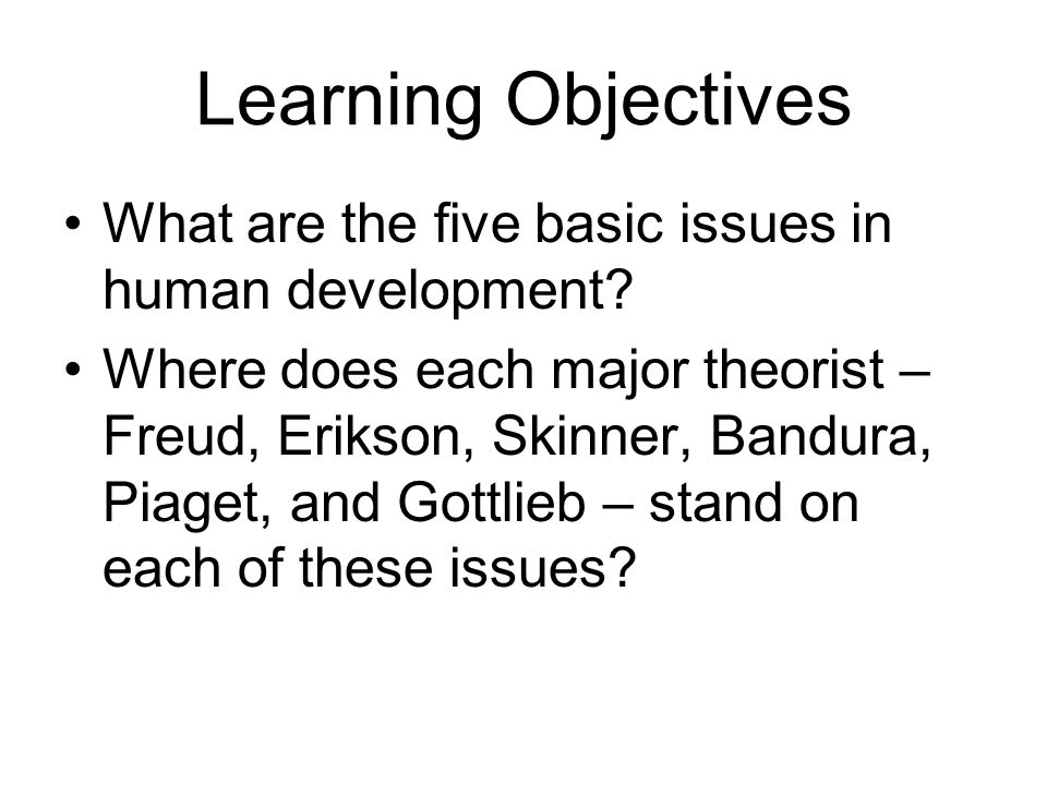 CHAPTER 2 THEORIES OF HUMAN DEVELOPMENT - ppt video online download