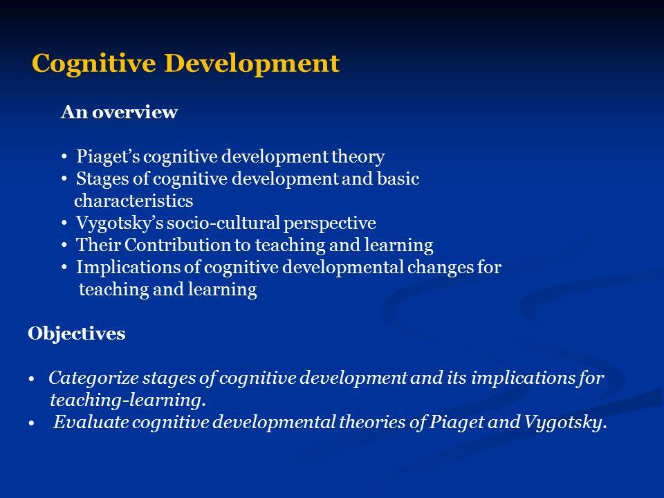 Cognitive Development - ppt video online download