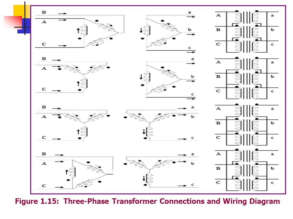 Three Phase Transformer Wiring Diagram Wiring Diagram