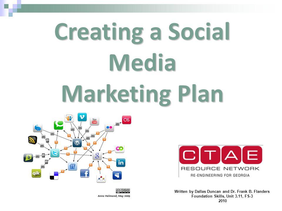 Creating a Social Media Marketing Plan - ppt video online download