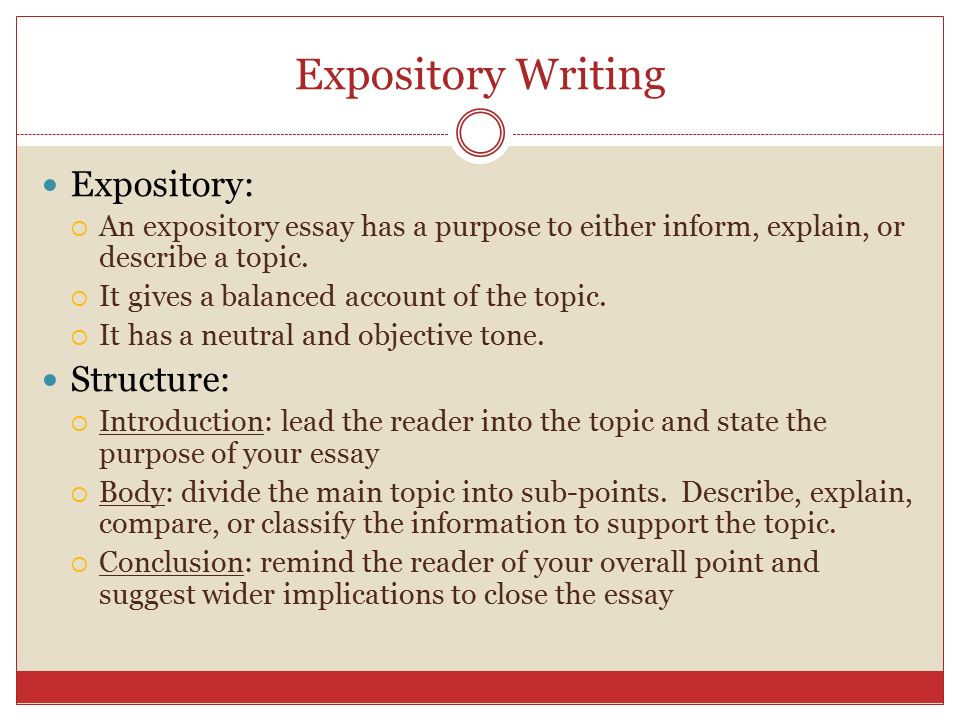 How to write an expository essay introduction Coursework Help