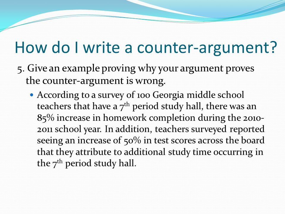 Counter Argument What\u0027s that again??? - ppt video online download