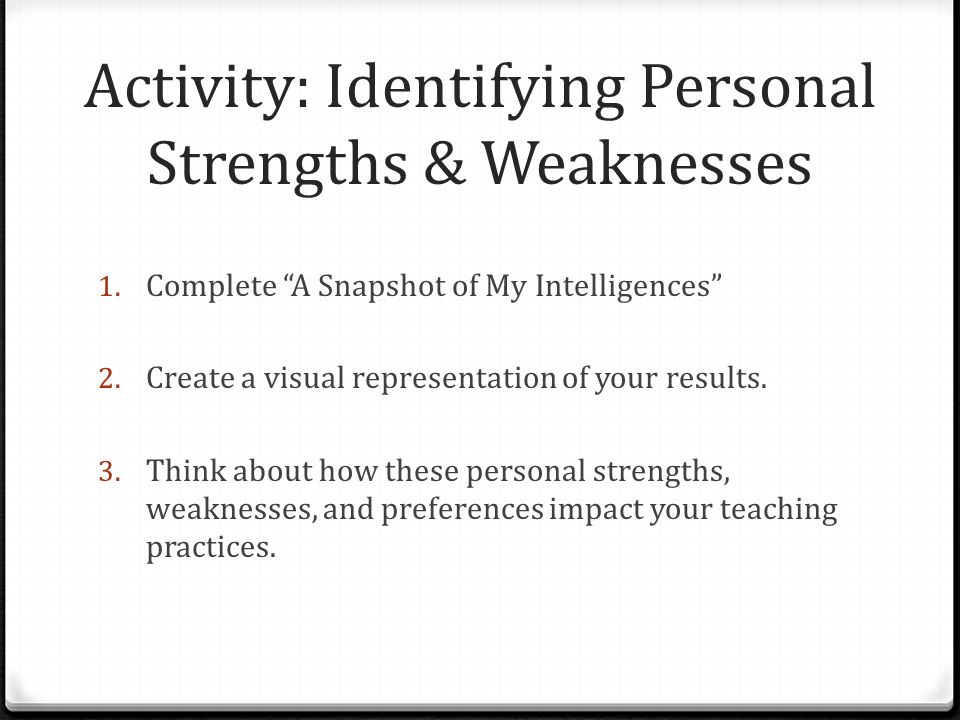 human services field strengths and weaknesses Why are weaknesses strengths and strengths weaknesses what constitutes a strength or a weakness is subject to criteria (ie) you have to hold some standard to determine it) nothing is purely free, so every action has some sortof cost, or consequence.