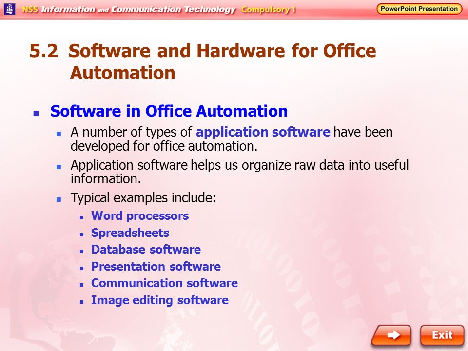 51 Basics of Office Automation - ppt video online download