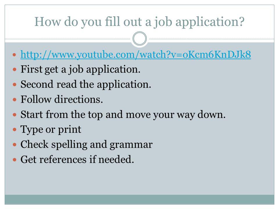 Job Application Nicole Meyer - ppt download