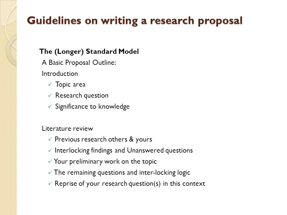 Writing a research proposal outline Essay Writing Service - what is the research proposal