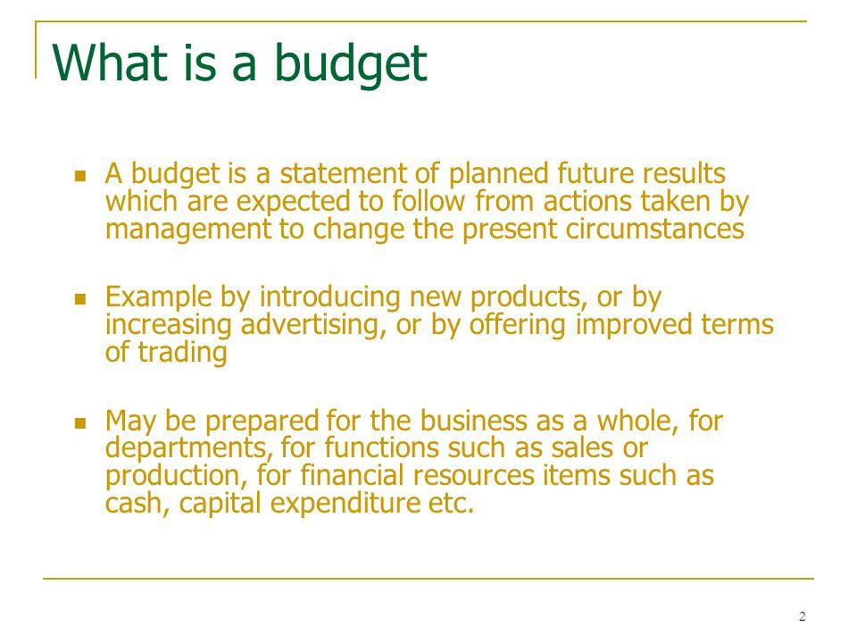 budgets ppt - Pinarkubkireklamowe
