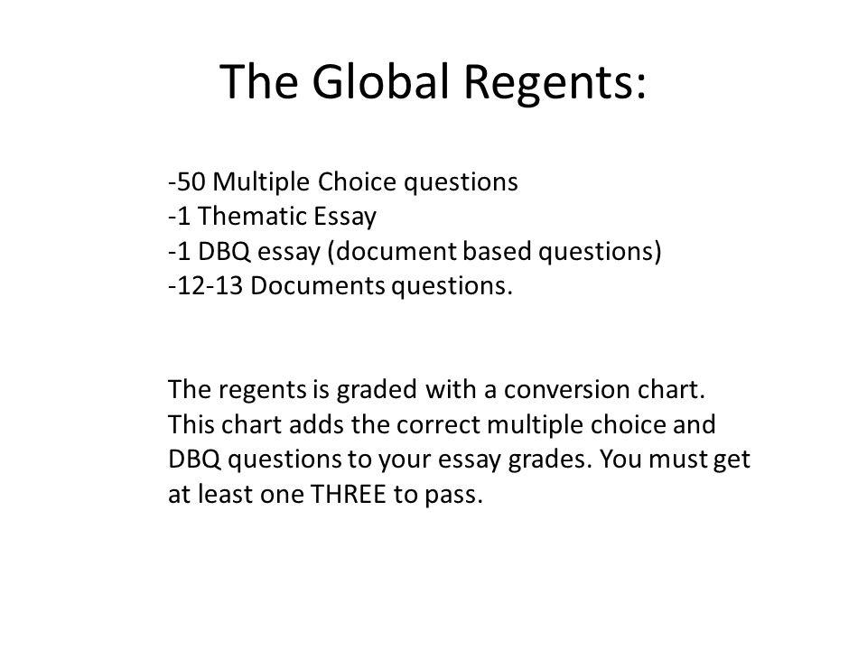 Global History Regents Thematic Essay Mistyhamel