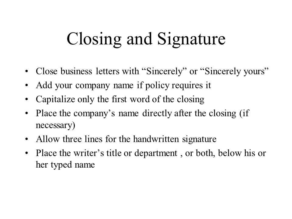 Professional Correspondence - ppt video online download