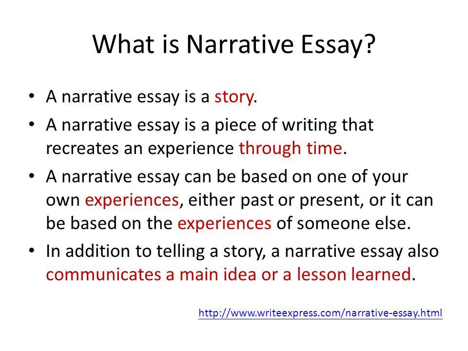Unit 3 Narrative Essay - ppt video online download